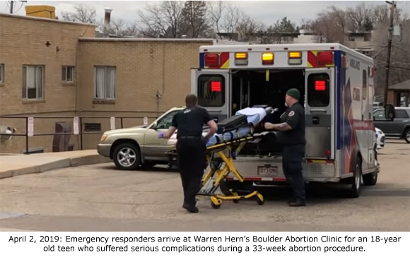This image has an empty alt attribute; its file name is Hern-33weeks-ambulance.jpg