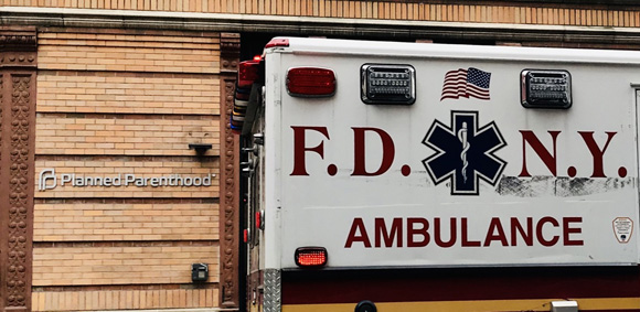 Sixth Ambulance At NYC Planned Parenthood In 2019 Shows